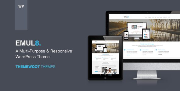 Emulate WordPress Theme