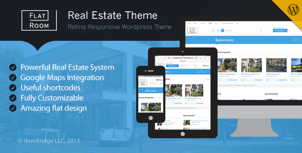 FlatRoom WordPress Theme