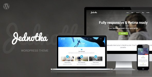 Jednotka WordPress Theme