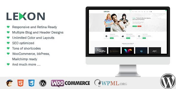 Lexon WordPress Theme