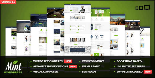 Mint WordPress Theme