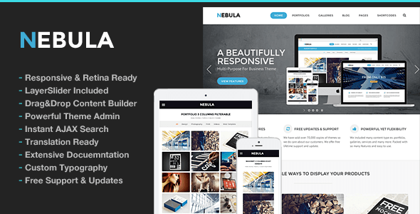 Nebula WordPress Theme