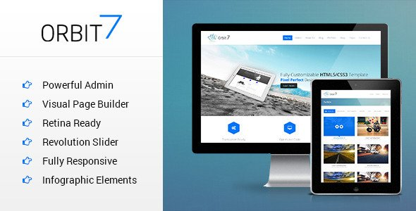 Orbit7 WordPress Theme