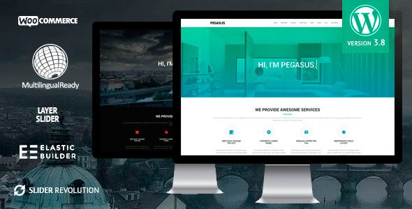 Pegasus WordPress Theme