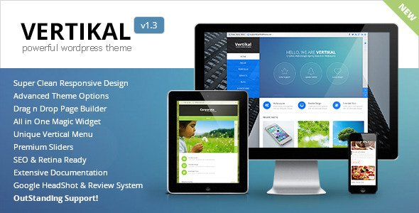 Vertikal WordPress Theme