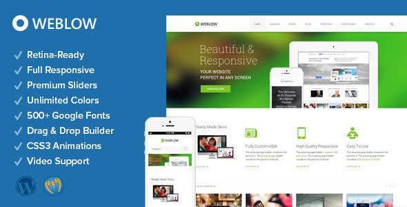 Weblow WordPress Theme Download