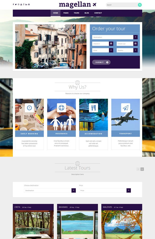 Magellan-WordPress-Theme