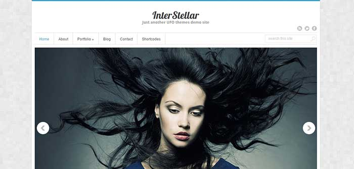 InterStellar - Free WordPress Theme