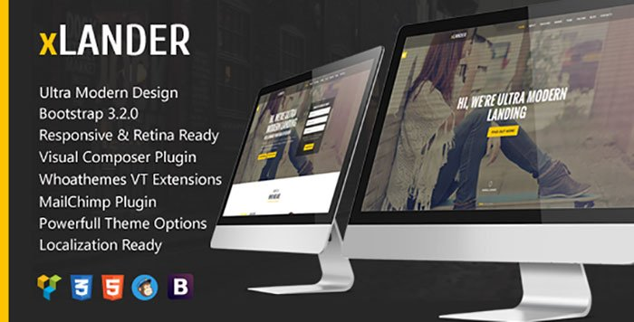 xLander-WordPress-Theme