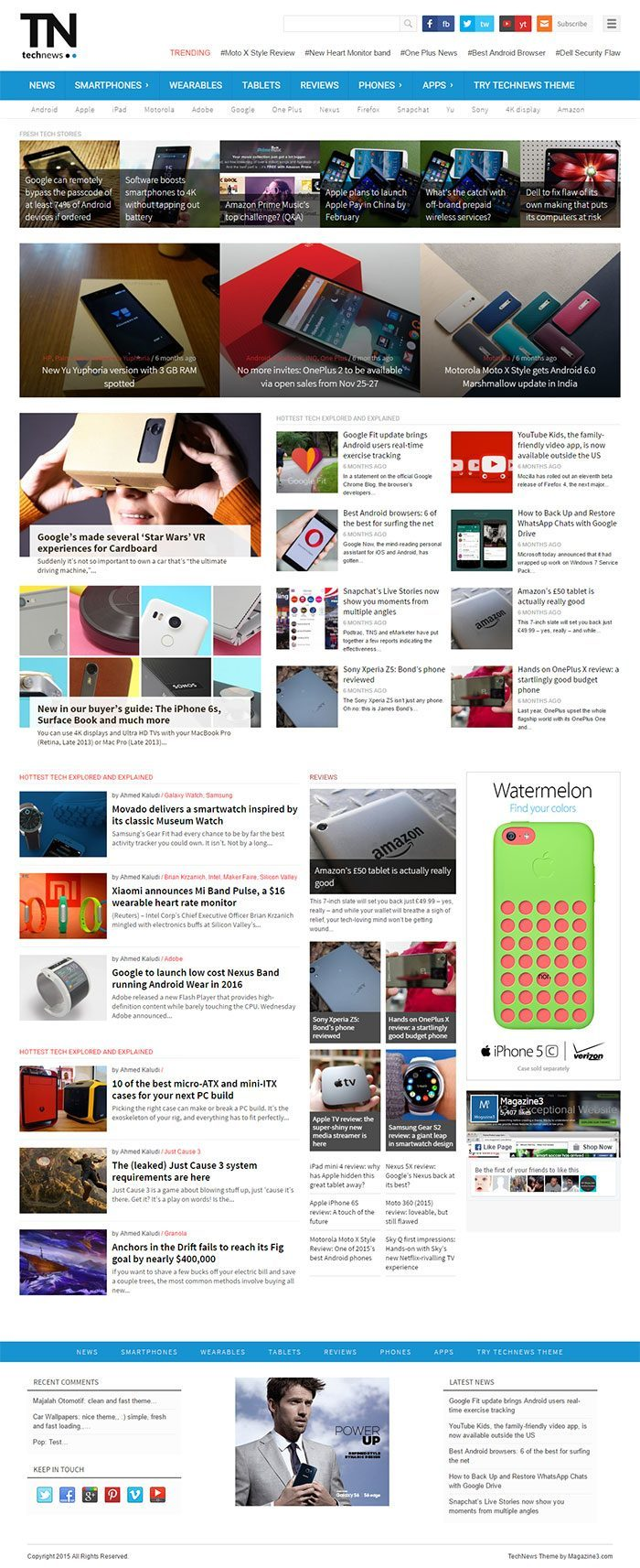 TechNews - Technology Magazine WP Theme