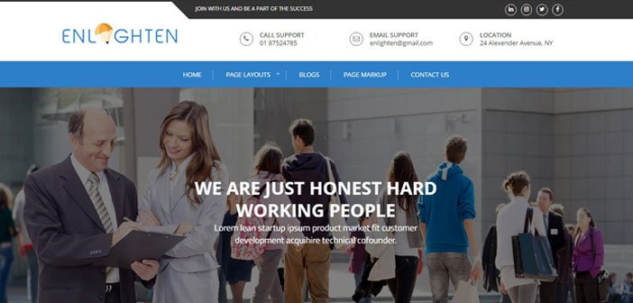 Enlighten Education WordPress Theme