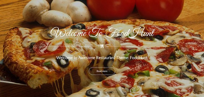 FoodHunt - Modern Multi Purpose WordPress Theme