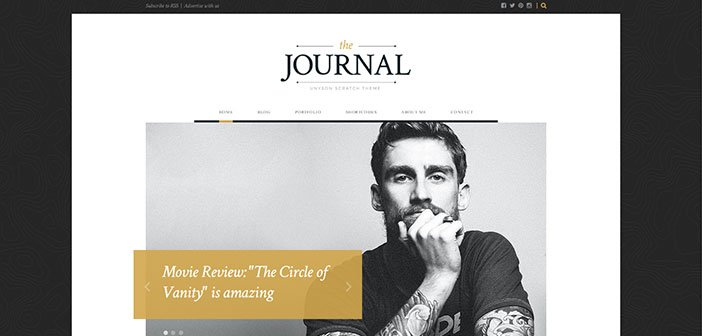 Journal - Minimalist Magazine WordPress Theme
