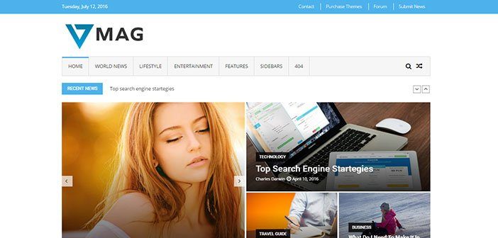 VMag Free WordPress Magazine Theme