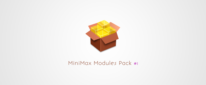 MiniMax Modules Pack 1