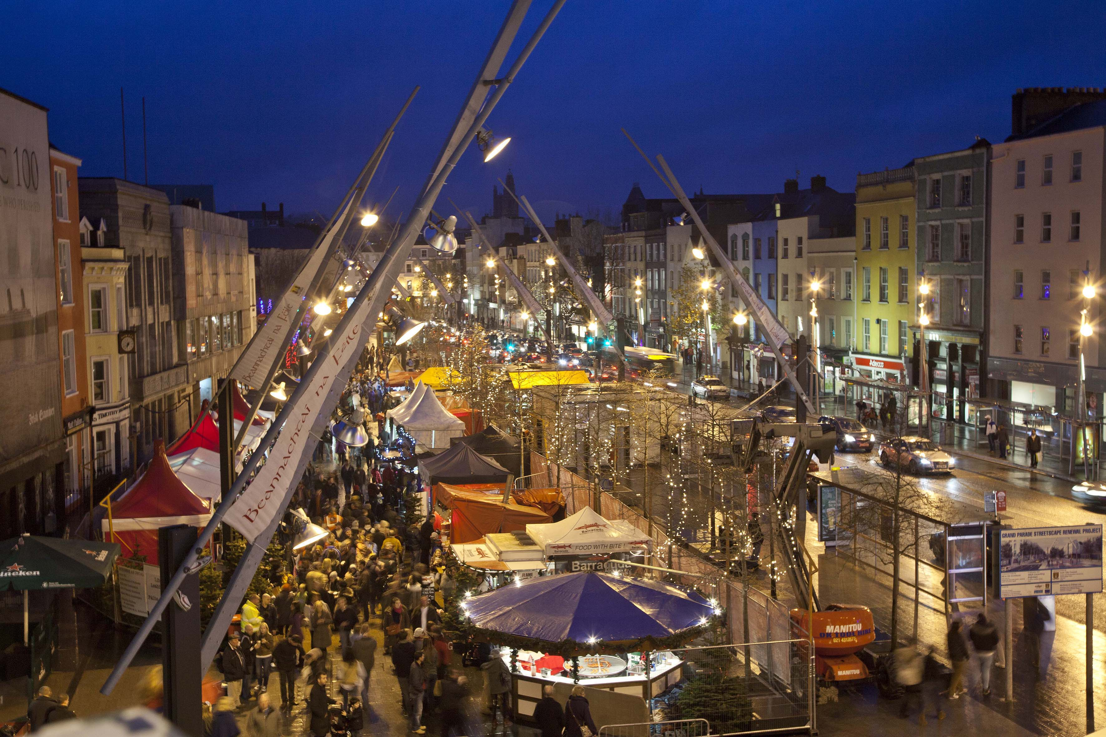 City Centre Traders Report Increase In Footfall Corks RedFM