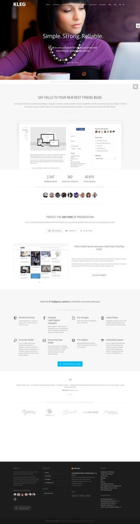 Kleo – BuddyPress Premium WordPress Theme