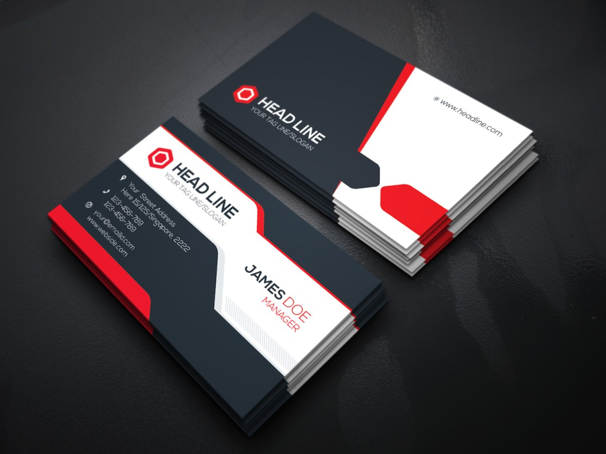 Visiting Card Template