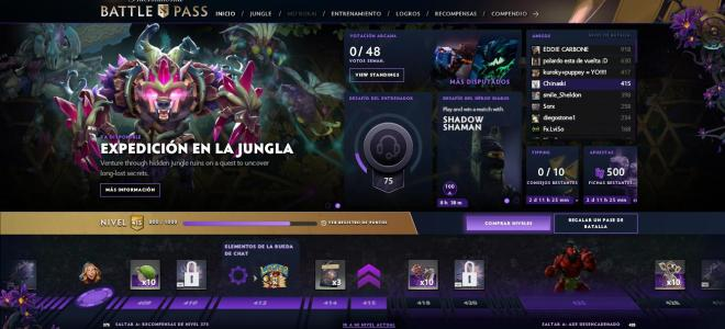 Battle Pass Dota 2 2019 Niveles