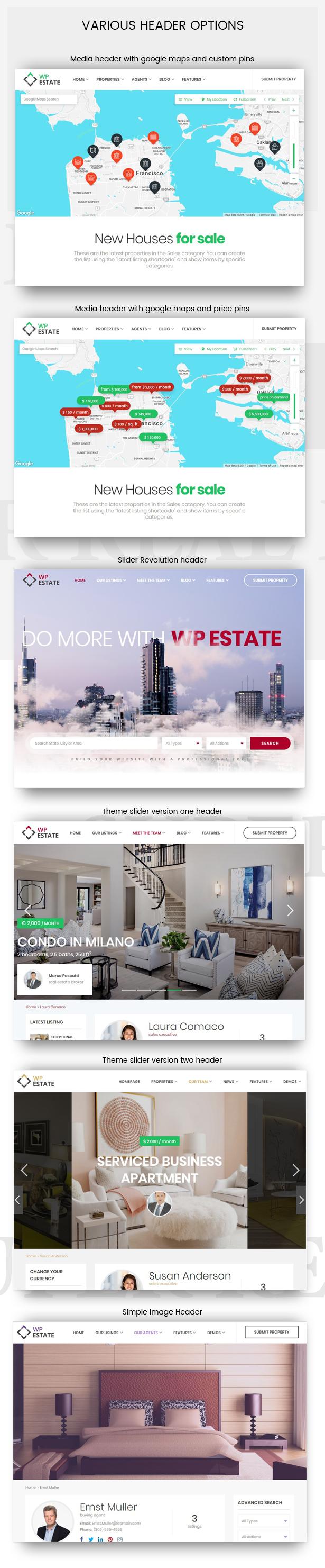 Real Estate - WP Estate Theme 5
