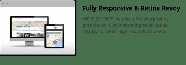 wpresidence retina and responsive display