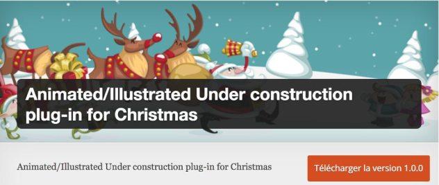 Plugin Under Construction Xmas