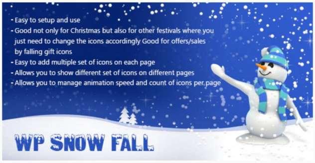 Plugin WP Snow Fall