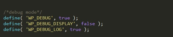 debug-mode-wordpress