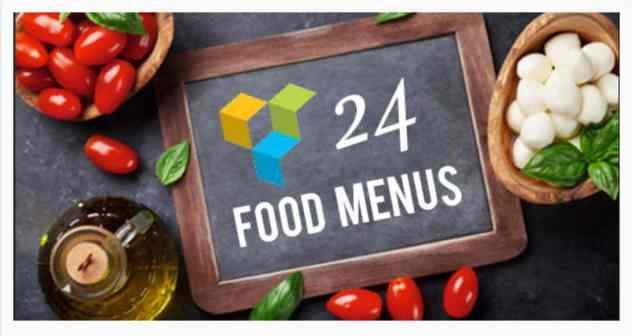 Food Menu addon pour Visual Composer