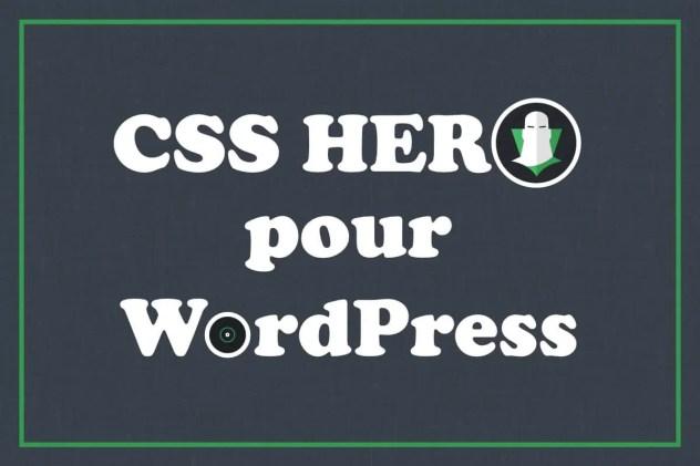 CSS Hero - Plugin WordPress