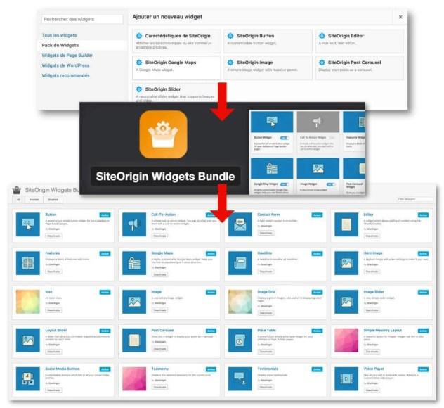 Site Origin - widgets bundle
