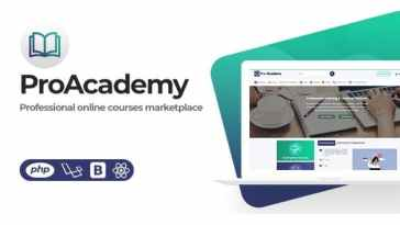 Proacademy 2 – LMS & Live Classes Marketplace Nulled