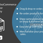 Merchandise WooCommerce v1.0 – Sort Products For Shop & Category Pages Nulled