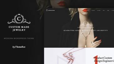Custom Made v1.1.5 – Jewelry Manufacturer and Store WordPress Theme Nulled
