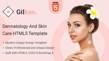 Gilkan v1.0 – Dermatology and Skin Care HTML5 Template