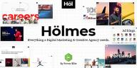 Holmes v1.3.1 – Digital Agency WordPress Theme