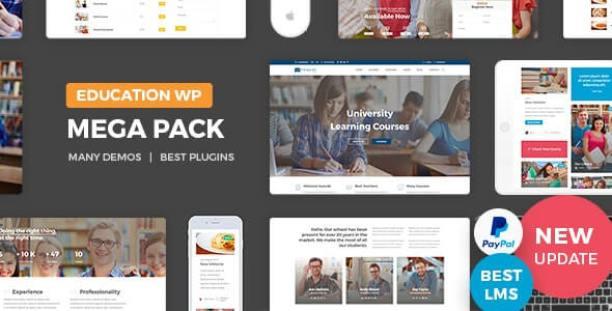 education pack wordpress