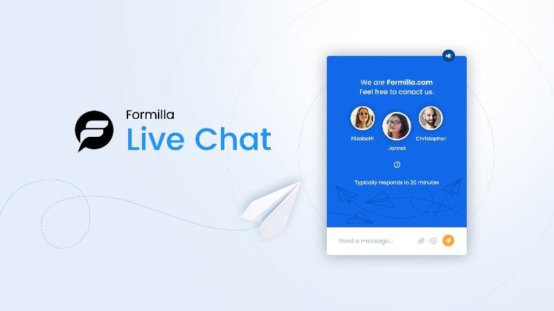 Formilla Live Chat wordpress plugin