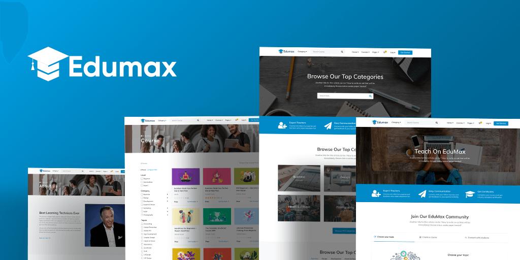 Edumax WordPress LMS Theme
