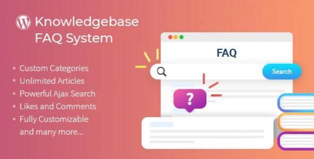Knowledgebase-FAQ-System WordPress Documentation Plugin