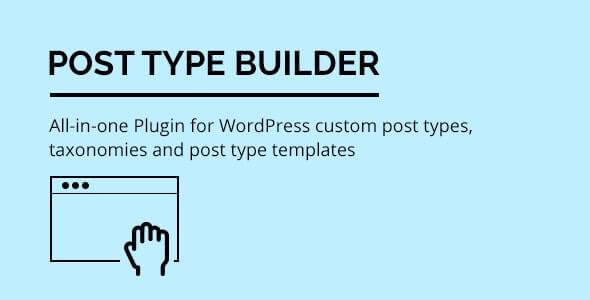 Post Type Builder - WordPress Custom Post Types