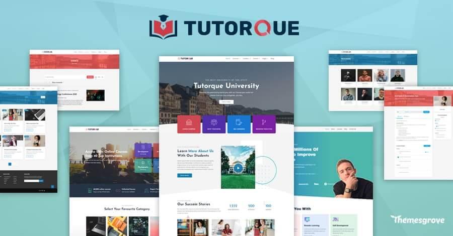 tutorque-wordpress-lms-theme