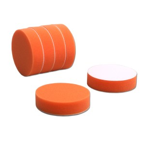 4吋橘平面海綿(6件)
