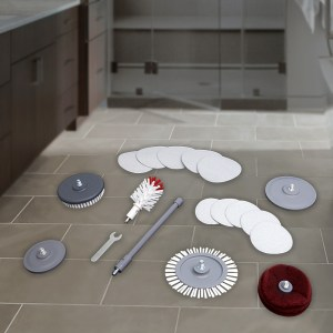 Bathroom Cleaning Accessories Kit