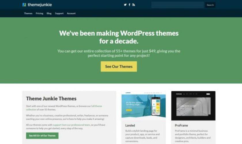 Theme Junkie WordPress Halloween Discounts