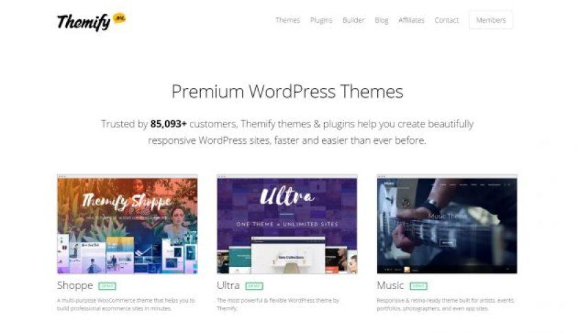 Themify - Best WordPress Halloween Discounts