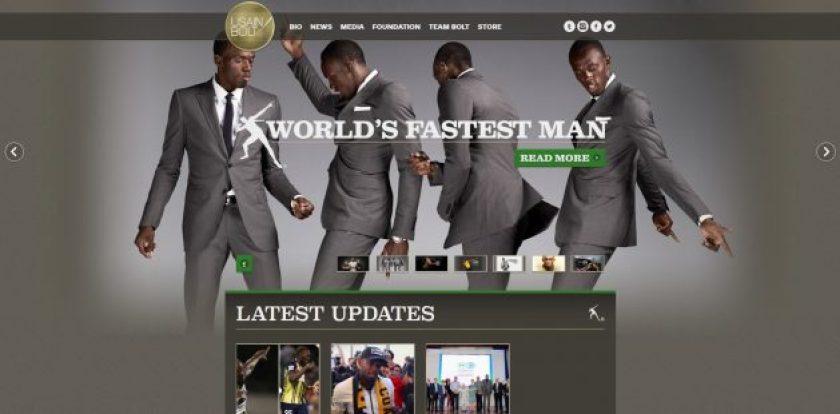 WordPress Business sites- Usain Bolt