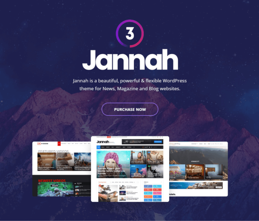 Jannah- how to create a news website in WordPress
