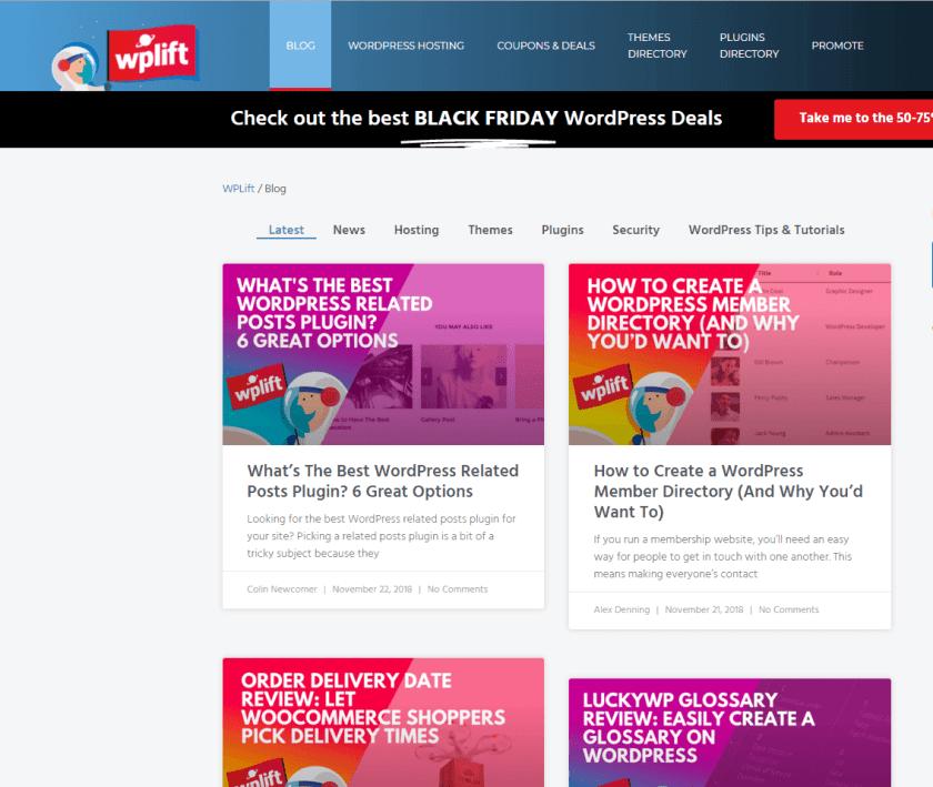 wplift- best WordPressblogs