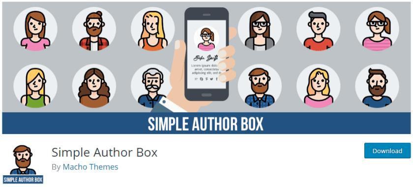 Adding Author bio